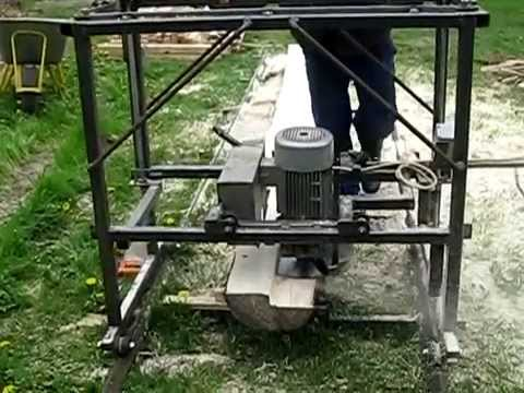 build your own swing blade sawmill 1