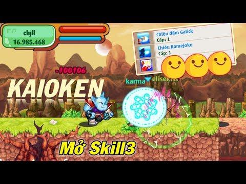 Ngọc Rồng Online - Khi Elisekiss Mở Skill3 Và Cái Kết - Thời lượng: 10 phút.