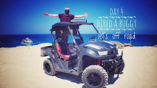 9. Hiring a ATV in Cyprus 2018 UXV 700cc