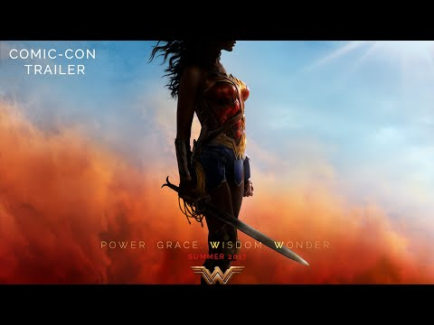 , title : 'WONDER WOMAN Comic-Con Trailer'