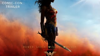 WONDER WOMAN ComicCon Trailer