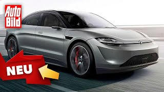 Sony Vision S Concept (2020) Prototyp - Concept Car - Vision by Auto Bild