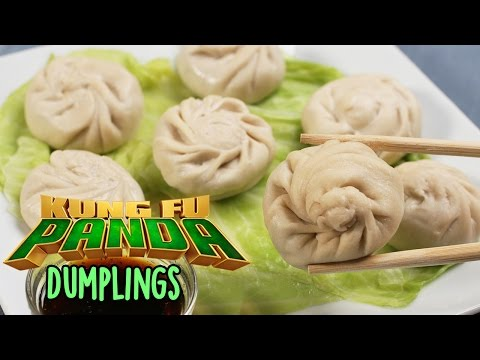 How to Make Chicken Dumplings Inspired by the Movie Kung Fu Panda