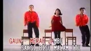 GAUN MERAH JAMBU ine chintya & solid ag   lagu dangdut Video