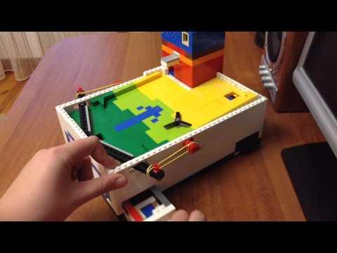 (2000 подписчиков)+ пинбол из Lego V8