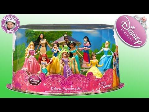Disney Spielset mit 11 Prinzessinnen - Princess Deluxe Play Set