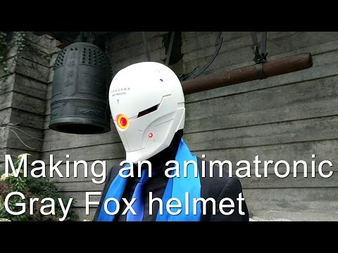 DIY Metal Gear Solid Gray Fox Mask