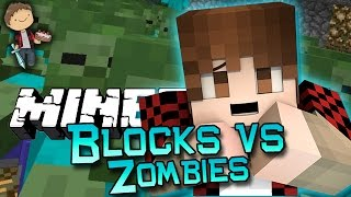 Minecraft: Blocks vs Zombies! Mini-Game w/Mitch&Friends! (Vanilla Command Block Mini-Game!)