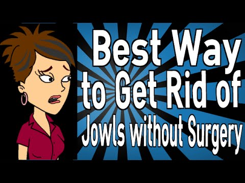 how to get rid of sagging jowls naturally