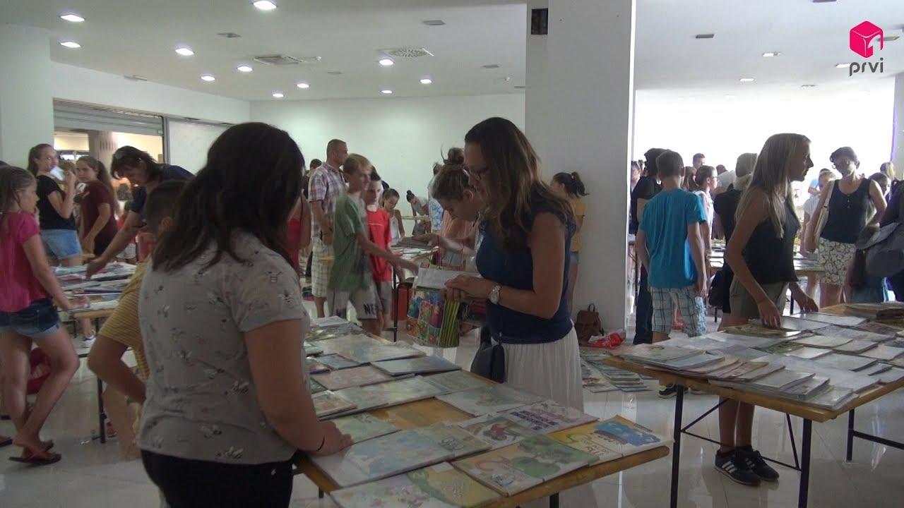 Organizirana akcija prodaje i zamjene korištenih školskih udžbenika