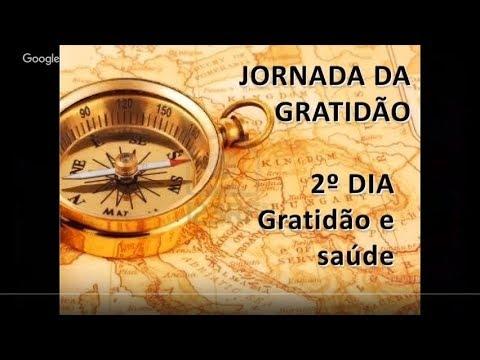2ª NOITE: GRATIDÃO E SAÚDE   Jornada da Gratidão