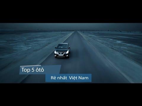 5 ôtô rẻ nhất Việt Nam