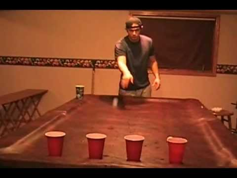 Best Beer Pong Shots in the World