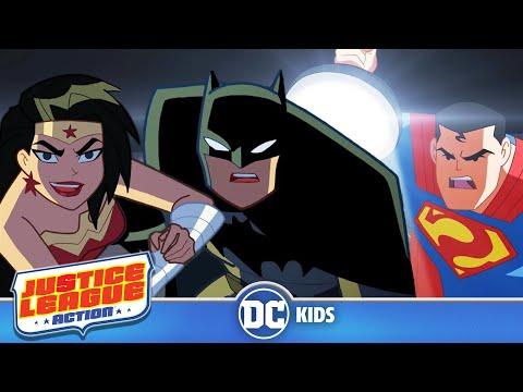 Justice League Action   Exclusive Shorts Episodes 1-5   DC Kids