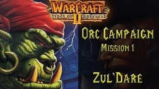 Warcraft II: Tides of Darkness - Orc Campaign Orc Campaign - Mission 1: Zul'dare Playthrough filled with nostalgia Warcraft II: Tides of Darkness is a fantas...