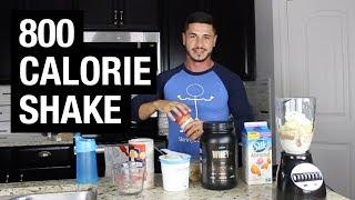 Best Homemade Mass Gainer Shake Recipe For Skinny Guys (1,000 Calories)