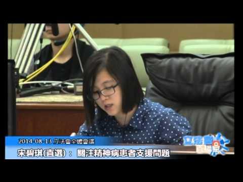 宋碧琪 立法會全體會議 20140813