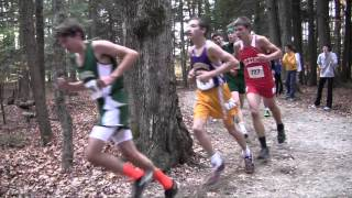 Boothbay Region High School Boys Cross Country State Race 2015