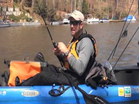 Early Spring Reservoir Largemouth Protection from NW Wind Short Version