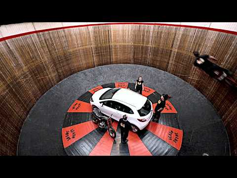 0 Mazda2 vs. The Wall Of Death | Video