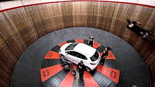 Mazda2 Versus The Wall Of Death