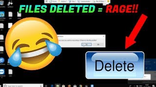 Video DELETING A SCAMMERS FILES! HE RAGED! [Destroying a scammer's PC] MP3, 3GP, MP4, WEBM, AVI, FLV Desember 2018