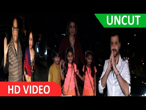 UNCUT - Anil Kapoor Party On The Occasion Of Ganesh Chaturthi