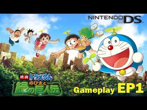 【任天堂DS】哆啦A夢 -「大雄與綠之巨人傳」GamePlay – Part1