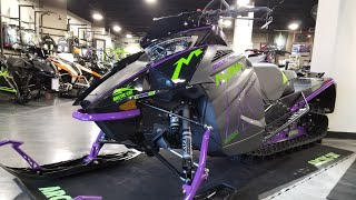 1. 2019 ALPHA ONE M8000 Mountain Cat Arctic Cat FIRST LOOK!