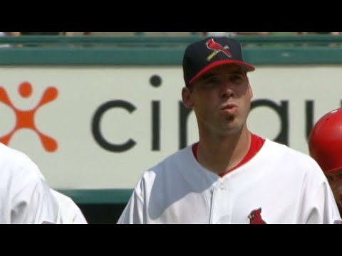 Video: Chris Carpenter fans Willy Taveras to finish 14th win