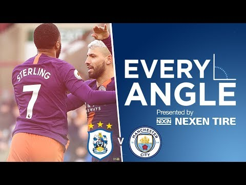 Video: RAHEEM STERLING | Every Angle vs Huddersfield