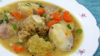 Caribbean Salt Beef Soup - Tasty Tuesday's | CaribbeanPot.com