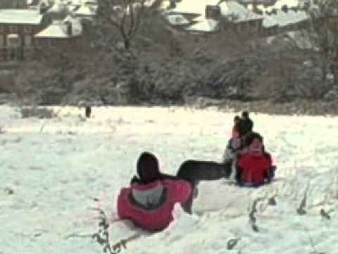 Fun in the snow 2012