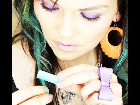 How To Do The Hair Chalk Trend %7C Kandee Johnson