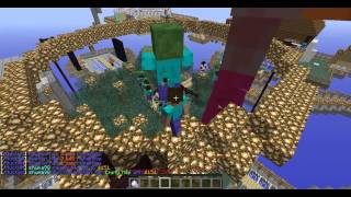 I was having fun spawning zombiekings at the spawn area. Everyone starts to hit it and the zombie made us all bounce up. xD it was fun thoThe zombieking has 500 HP at startand drops good loot-20 diamonds: its named -Diamonds for you!- in green.- Power sword: Drops a God sword.~Shaprness V Fire aspect II Knockback II~- 15 red wool**also spawns 3-5 pigs when health is below 300**ENjoy! This server is from gleecraft skyblock.Server address: server has changed and no long looks like thismain server: server changed