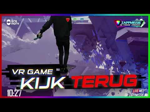 Kijk de live VR-game met Gio terug! (видео)