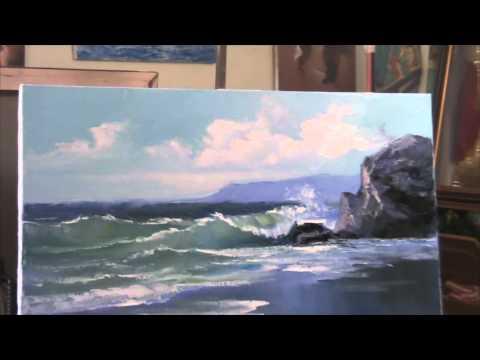 видео обучение живописи:
