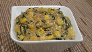 Methi Corn Malai