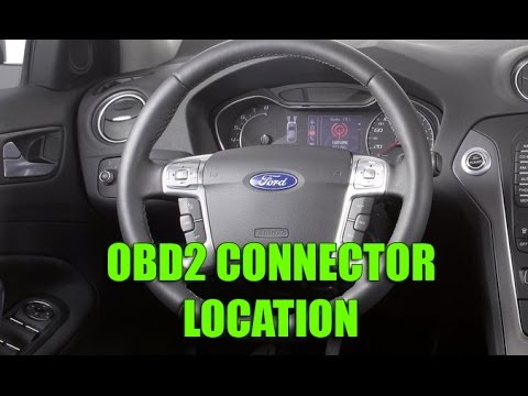 Where You Can Find Obd Connector In Ford Fiesta Focus Mondeo S