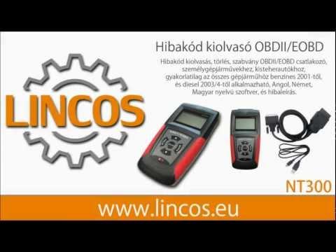 Diagnostické zařízení OBDII/EOBD NT300