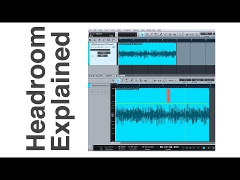 Mixing Tutorial  - What Is Headroom? Recording, Mixing & Mastering