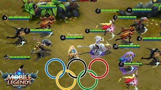 Video Mobile Legends OLYMPICS!! Who Is The Fastest ? - MARKSMAN OLYMPIC!! MP3, 3GP, MP4, WEBM, AVI, FLV September 2018