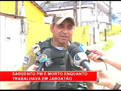 [RONDA GERAL] Sargento da PM é morto enquanto trabalhava em Jaboatão