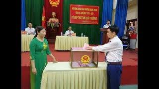 HĐND phường Quang Trung: Kiện toàn chức danh chủ chốt