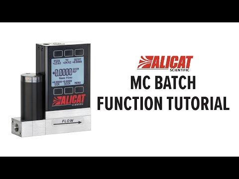 Ask Alicat: How do you dispense fluids in batches?