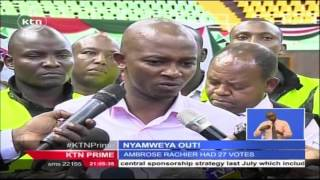 KTN Prime February,10th 2016 - Nick Mwendwa Prepare To Take Office