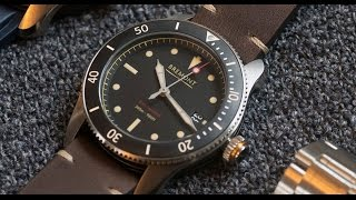 """A quick hands on review of the Bremont Supermarine S301 - one of the latest watches from Bremont's 2017 collection unveiled in London. For vlogs subscribe to: http://emkwan.com/vlogs✩ Twitter - http://www.twitter.com/emkwan✩ Instagram - http://www.instagram.com/emkwan✩ Snapchat - @EMKWAN✩ Blog/Website - http://emkwan.com✩ FaceBook - http://www.facebook.com/emkwan.page__Shot on a Canon G7X, Sometimes a Canon Legria Mini X or Go Pro Hero 4 Session__FAQs:- How old are you? - 33- Where do you live? - Abu Dhabi, UAE- What Phone(s) do you use? - iPhone 7 Plus- What is your job? - Lecturer and Working with brands on social media- What editing program do you use? - iMovie, FCPX and Motion- How long do your vlogs take to edit? - They vary from 15mins - 3 hours +- Where are you originally from? - Born and raised in the UK, Leicester- Are you guys Emirati? - Nope. We are expats from the UK- Are you guys married? How long have you been married? - Yes. Just past the 5 year mark- How do you wear your head gear? - I made a tutorial here http://youtu.be/x6_hA3zM6MA- What sun glasses do you wear? - Rayban Aviators and Justins- Can you get me a job in Dubai? - no sorry, I'm not in recruitmentStill got questions? Submit your questions here #AskEMKWANhttp://emkwan.com/ask__Peace and BlessingsEMKWAN REVIEWS is a weekly channel set up by EMKWAN for unboxing, reviews on technology, cars, watches and lifestyle.EMKWAN is an award winning YouTuber, Digital and Social Media Influencer who is regarded as """"One of the UAE's leading video bloggers."""" (Esquire Magazine). Originally from the UK now based in Abu Dhabi. In 2015, EMKWAN was handed the Esquire Magazine's Digital Influencer award and selected as one of AHLAN!'s Hot 100 Influencers of the Middle East."""