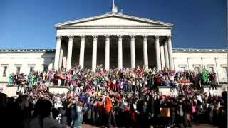 Harlem Shake (UCL edition): biggest harlem shake in Europe?