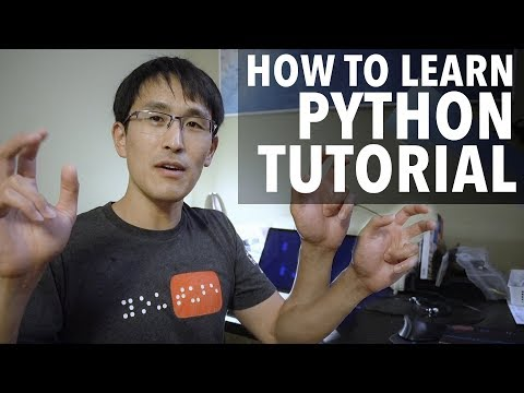 How to Learn Python Tutorial - Easy & simple! Learn How to Learn Python!