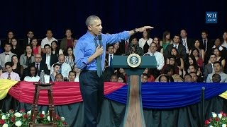 Lima Peru  city pictures gallery : Obama Town Hall In Lima, Peru - Full Event